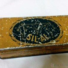 Cajas y cajitas metálicas: CAJA METÁLICA SIL-AL BELLADONA. Lote 50463796