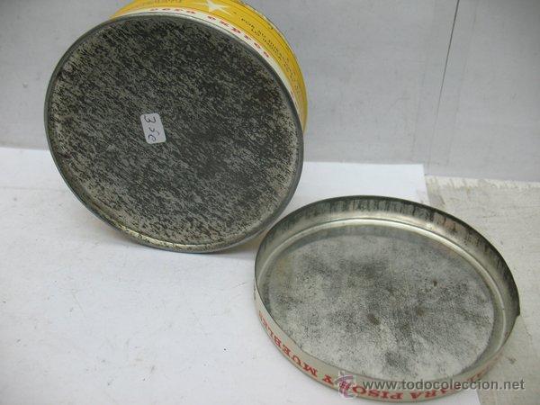 Cajas y cajitas metálicas: Antigua caja metálica circular CERA SÓLIDA PERFUMADA EXPRES especial para pisos y muebles - Foto 5 - 50785715