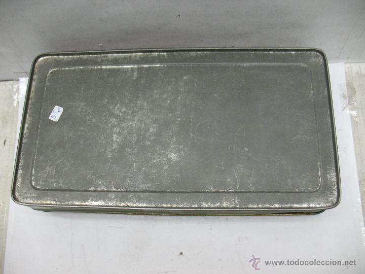 Cajas y cajitas metálicas: Antigua caja metálica Mermeladas y dulces Bebé Industrias Muerza - Foto 8 - 50814640