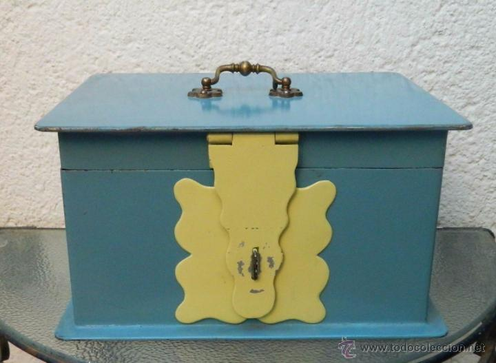 CAJA METALICA GRANDE (Coleccionismo - Cajas y Cajitas Metálicas)