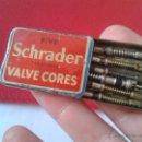 Cajas y cajitas metálicas: RARA ANTIGUA CAJA METALICA LATA VALVULAS FIVE SCHRADER VALVE CORES BIRMINGHAM ENGLAND INGLATERRA IDE. Lote 50928226