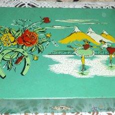 Cajas y cajitas metálicas: CAJA PARA LABORES - MADERA. Lote 51012338