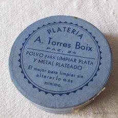 Cajas y cajitas metálicas: PLATERIA - A. TORRES BOIX - CAJA ANTIGUA -. Lote 51041013
