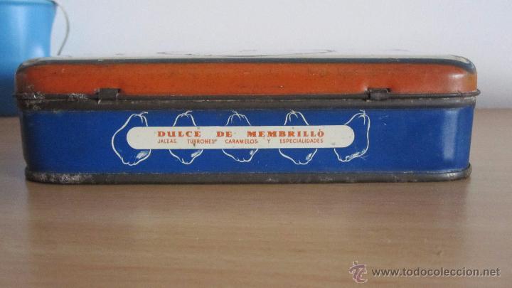 Cajas y cajitas metálicas: CAJA METÁLICA DE DULCE MENBRILLO - Foto 5 - 51063926