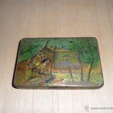 Cajas y cajitas metálicas: CAJA DE TABACO EGYPCIO. Lote 51173090