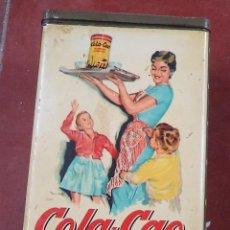 Cajas y cajitas metálicas: CAJA DE COLACAO,ORIGINAL,BUEN ESTADO,LENTEJAS,AÑOS 60,ES LA CAJA DE LAS FOTOS. Lote 51242446
