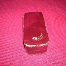 Cajas y cajitas metálicas: MUY ANTIGUA CAJA HOUBIGANT. Lote 51406017
