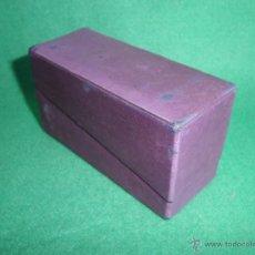 Cajas y cajitas metálicas: RARISIMA ANTIGUA CAJA RIGAUD PARFUMEUR PARIS PRINCIPIOS SIGLO XX PERFUME ALTA COSTURA. Lote 51513732