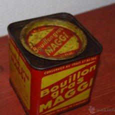 Cajas y cajitas metálicas: LATA DE CUBITOS DE CALDO MAGGI - FRANCIA. Lote 51515766