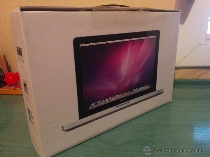 Caja envoltorio Apple Mac Book Pro 13 segunda mano