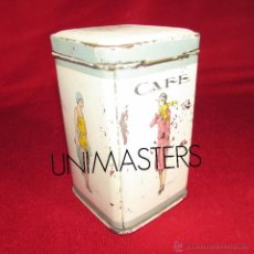 Cajas y cajitas metálicas: CAFE - PENAGOS - BOTE ANTIGUO HOJALATA. Lote 52151340
