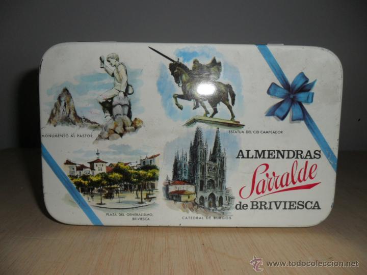 Cajas y cajitas metálicas: ALMENDRAS SARRALDE DE BRIVIESCA - Foto 5 - 52151748