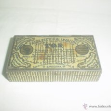Cajas y cajitas metálicas: PASTA PECTORAL CONTRA LA TOS DR. ANDREU . Lote 52518788
