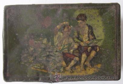 Cajas y cajitas metálicas: ANTIGUA CAJA DULCES B. PIFARRE DE BELLPUIG - Foto 3 - 52640196
