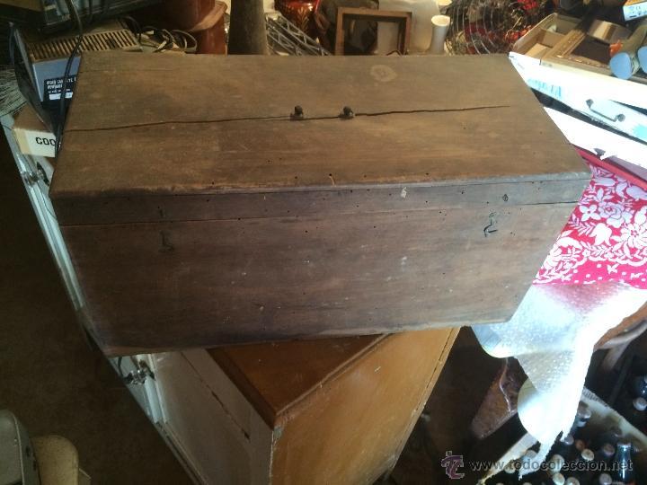 Cajas y cajitas metálicas: Antigua caja de madera de laboratorio, años 20-30 - Foto 2 - 52744131