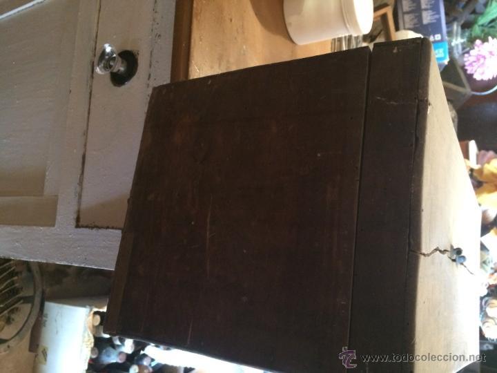 Cajas y cajitas metálicas: Antigua caja de madera de laboratorio, años 20-30 - Foto 4 - 52744131