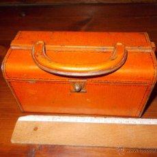 Cajas y cajitas metálicas: BOLSO DE HOJALATA CON PUBLICIDAD CAFE SANGAY JOSE LOPEZ. BADAJOZ.. Lote 52780357