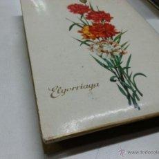 Cajas y cajitas metálicas: ANTIGIUA CAJA DE CARTON CHOCOLATES - ELGORRIAGA-2186 56. Lote 52782081