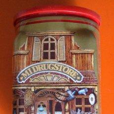 Cajas y cajitas metálicas: CAFE SOLEY - CAJA VINTAJE - MI DRUGSTORE. Lote 52898186