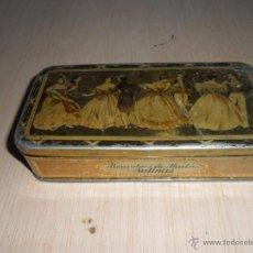 Cajas y cajitas metálicas: CAJITA DE ALMENDRAS DE ALCALÁ. Lote 52978540