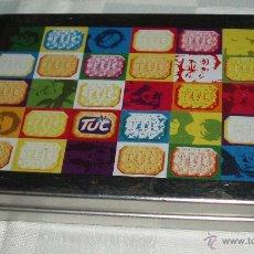 Cajas y cajitas metálicas: CAJA METALICA DE COLORES . Lote 52984227