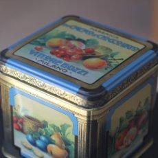 Cajas y cajitas metálicas: CAJ METÁLICA DE CACAO. Lote 53044790