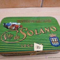 Cajas y cajitas metálicas - CAJA DE PASTILLAS DE CAFE Y LECHE. VDA. DE SOLANO. - 53168975