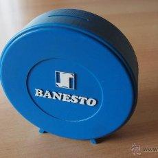 Cajas y cajitas metálicas: 1 HUCHA BANESTO. BANCO ESPAÑOL DE CREDITO. ALCANCIA. GUARDIOLA. VER FOTOS ADICIONALES. Lote 53189998