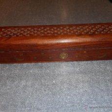 Blechdosen und Kisten - Caja madera para guardar incienso. India. - 53259660
