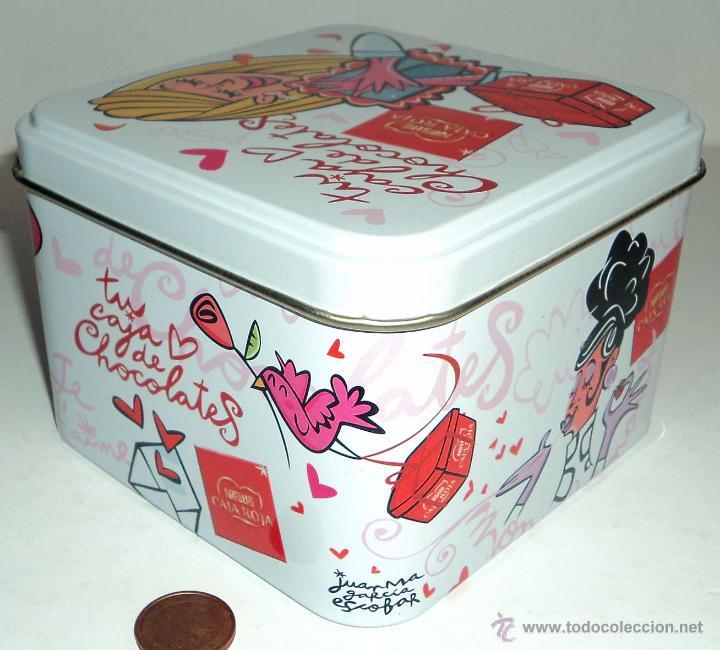 Cajas y cajitas metálicas: Caja metálica Nestlé Caja Roja - Foto 4 - 53303821