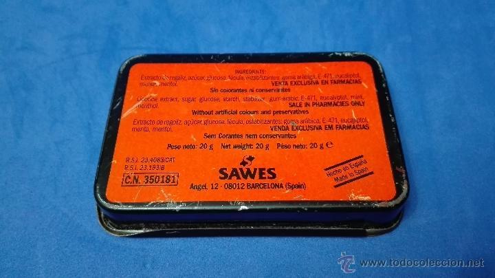 Cajas y cajitas metálicas: CAJA METALICA ANTIGUA, DE REGALIZ DE LA MARCA (SAWES) . - Foto 4 - 53477065