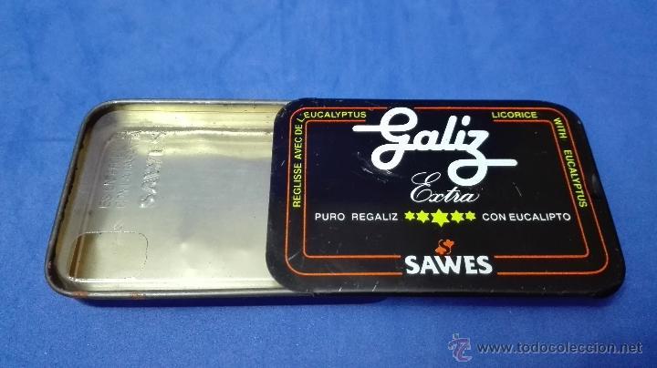 Cajas y cajitas metálicas: CAJA METALICA ANTIGUA, DE REGALIZ DE LA MARCA (SAWES) . - Foto 6 - 53477065