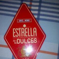 Cajas y cajitas metálicas: CAJA DE LATA GALLETAS ANIS DEL MONO. Lote 53602140