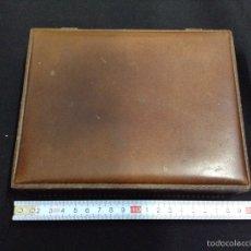 Cajas y cajitas metálicas: CAJA - PIEL - CAR92. Lote 54165046