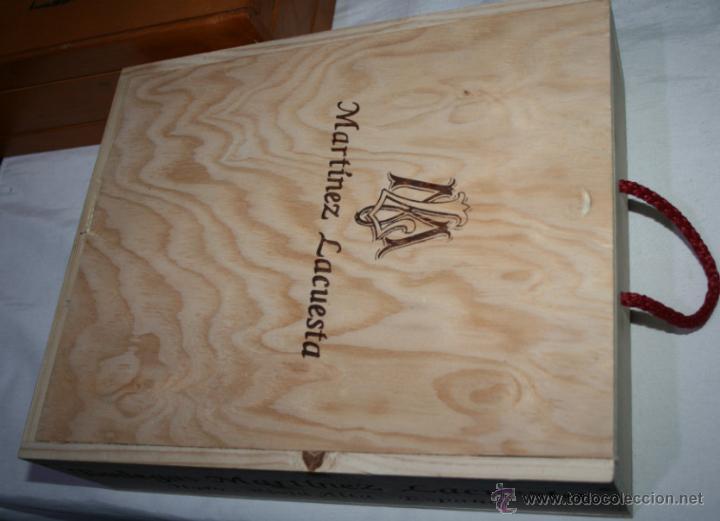 caja de madera para vino martinez lacuesta cajas y envases cajas y cajitas