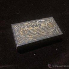 Cajas y cajitas metálicas: CAJA METÁLICA DE PASTA PECTORAL INFALIBLE PARA LA TOS. Lote 54296314