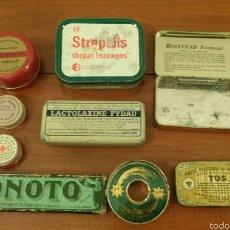 Cajas y cajitas metálicas: LOTE 9 ENVASES. Lote 54309294