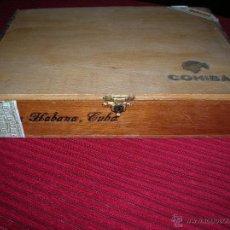 Cajas y cajitas metálicas: CAJA DE MADERA DE PUROS HABANOS COHIBA . Lote 54325563