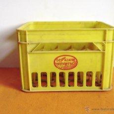 Cajas y cajitas metálicas: CAJA DE PLASTICO PARA 20 BOTELLINES ESPUMOSOS AZAFOR. Lote 54355750
