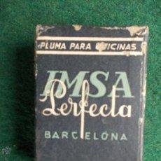 Cajas y cajitas metálicas: CAJA DE PLUMILLAS. Lote 54402770