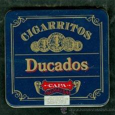 Cajas y cajitas metálicas: CAJA TABACO DUCADOS SUMATRA CIGARROS. Lote 54487731