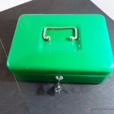 Cajas y cajitas metálicas: CAJA CAUDALES VINTAGE. Lote 54494333