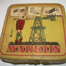 Cajas y cajitas metálicas: ANTIGUA CAJA METALICA...MARKLIN.. Lote 54542325