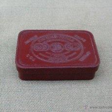 Cajas y cajitas metálicas: CAJITA DE PASTILLAS BONALD CLOROBOROSÓDICAS, DE BAQUELITA. Lote 54662717