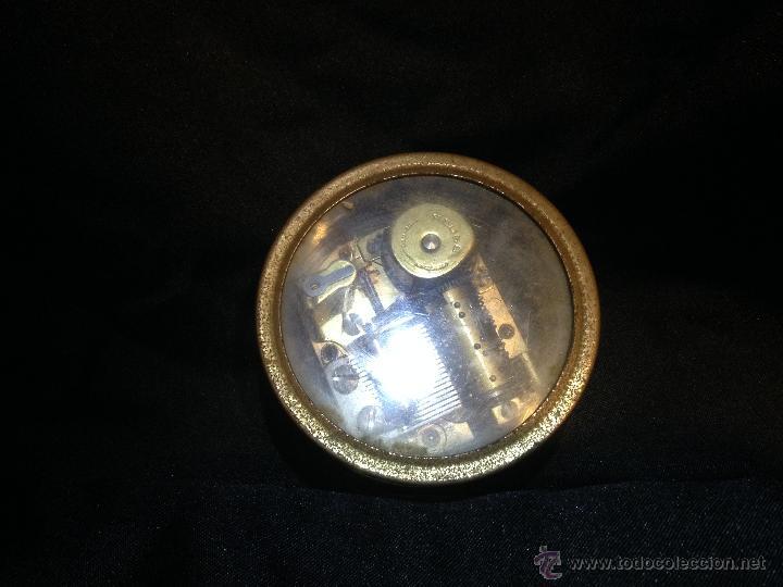 Music box reuge edelweiss swiss musical movemen - Sold