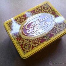Cajas y cajitas metálicas: CAJA DE GALLETAS BIRBA. Lote 54766347