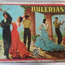 Cajas y cajitas metálicas: ANTIGUA CAJA DE LATA DULCE DE MEMBRILLO BULERIAS. SAN PASCUAL. PUENTE GENIL, CÓRDOBA. Lote 54874841