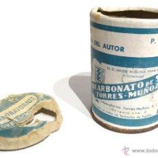 Cajas y cajitas metálicas: BOTE DE BICARBONATO DE SOSA TORRES MUÑOZ. Lote 54888133