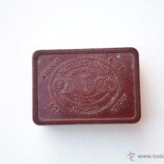 Cajas y cajitas metálicas: CAJA BAQUELITA PASTILLAS BONALD. Lote 54913904