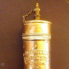 Cajas y cajitas metálicas: BOTE LATA BARRA JABÓN AFEITAR RELIEVE COLGATE & CON NEW YORK U.S.A. QUEMADOR AÑOS 20 RARO. Lote 54928070